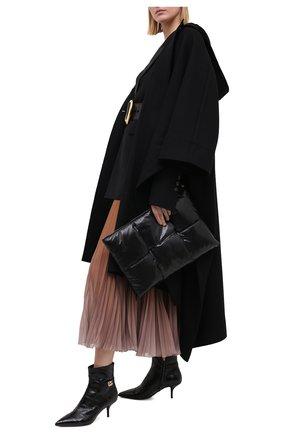 Женские кожаные ботильоны cardinale DOLCE & GABBANA черного цвета, арт. CT0700/A8M24   Фото 2