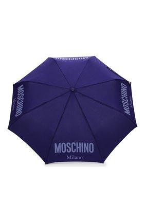 Женский складной зонт MOSCHINO синего цвета, арт. 8021-0PENCL0SE   Фото 1