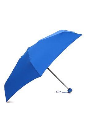 Женский складной зонт MOSCHINO синего цвета, арт. 8061-SUPERMINI   Фото 2 (Материал: Текстиль, Металл)