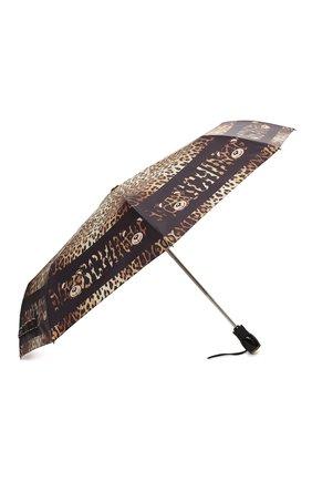 Женский складной зонт MOSCHINO леопардового цвета, арт. 8138-0PENCL0SE | Фото 2