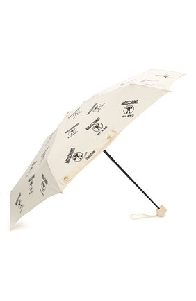 Женский складной зонт MOSCHINO кремвого цвета, арт. 8560-SUPERMINI | Фото 2