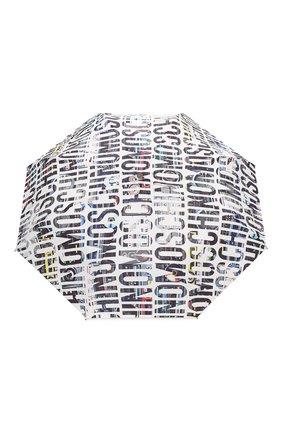 Женский складной зонт MOSCHINO белого цвета, арт. 8600-0PENCL0SE | Фото 1