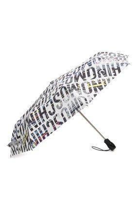 Женский складной зонт MOSCHINO белого цвета, арт. 8600-0PENCL0SE | Фото 2