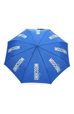 Женский складной зонт MOSCHINO синего цвета, арт. 8730-0PENCL0SE | Фото 1