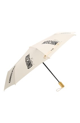 Женский складной зонт MOSCHINO кремвого цвета, арт. 8730-0PENCL0SE | Фото 2