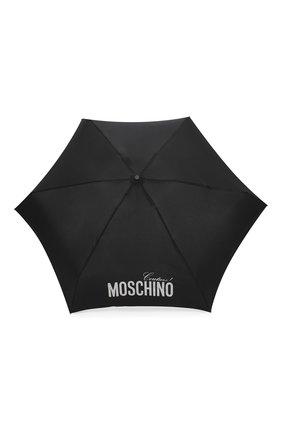 Женский складной зонт MOSCHINO серебряного цвета, арт. 8900-SUPERMINI | Фото 1
