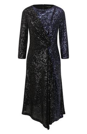 Женское платье с пайетками ST. JOHN черного цвета, арт. K120WL1   Фото 1