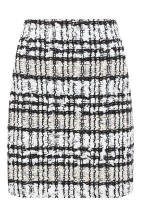 Женская юбка ST. JOHN черно-белого цвета, арт. K7100C1 | Фото 1
