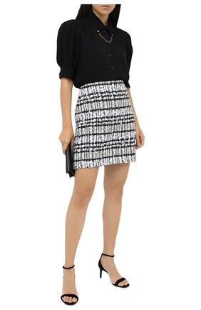 Женская юбка ST. JOHN черно-белого цвета, арт. K7100C1 | Фото 2
