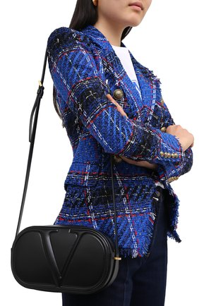 Женская сумка valentino garavani vlogo walk VALENTINO черного цвета, арт. UW2B0G32/QEL | Фото 2