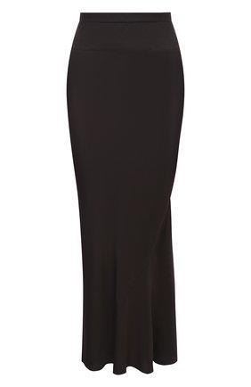Женская юбка RICK OWENS серого цвета, арт. RP20F2334/CC | Фото 1
