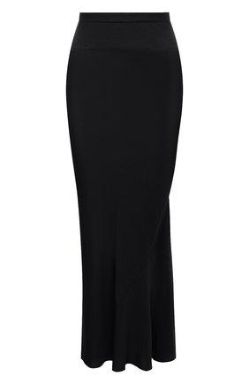 Женская юбка RICK OWENS черного цвета, арт. RP20F2334/QLX   Фото 1