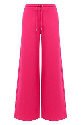Женские хлопковые брюки OPENING CEREMONY фуксия цвета, арт. YWCH002E20FLE001 | Фото 1