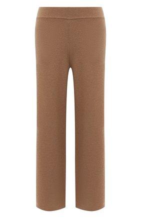 Женские брюки из шерсти и кашемира OPENING CEREMONY бежевого цвета, арт. YWHG001E20KNI001   Фото 1