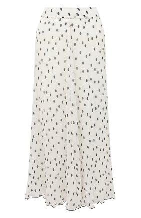 Женская юбка-миди GANNI черно-белого цвета, арт. F4896 | Фото 1
