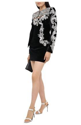 Женский жакет BALMAIN черного цвета, арт. UF17741/P049 | Фото 2