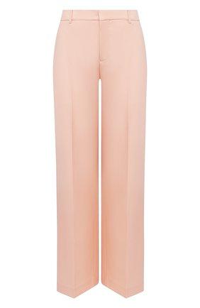 Женские шерстяные брюки GIVENCHY светло-розового цвета, арт. BW50M812JF | Фото 1