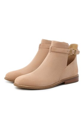 Женские замшевые ботинки lawson  MICHAEL MICHAEL KORS коричневого цвета, арт. 40T0LAFE5S | Фото 1