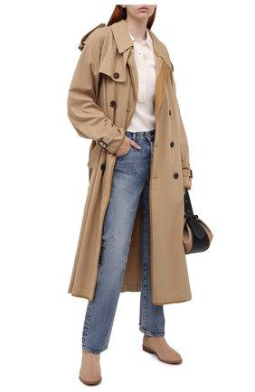 Женские замшевые ботинки lawson  MICHAEL MICHAEL KORS коричневого цвета, арт. 40T0LAFE5S | Фото 2