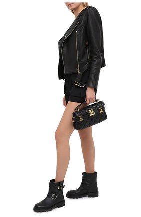 Женские кожаные ботинки youth JIMMY CHOO черного цвета, арт. Y0UTH II/SQM | Фото 2