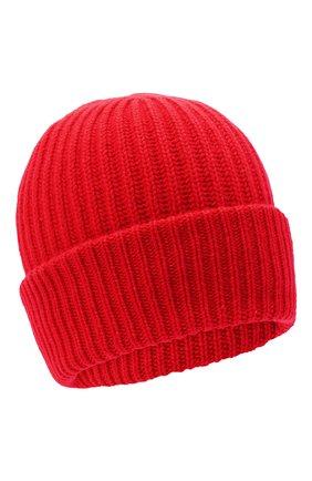 Женский кашемировая шапка WOOLRICH красного цвета, арт. CFWWAC0093FR/UF0391 | Фото 1