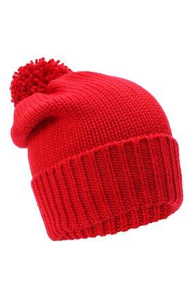 Женский шерстяная шапка WOOLRICH красного цвета, арт. CFWWAC0097FR/UF0096 | Фото 1