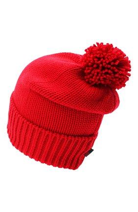 Женский шерстяная шапка WOOLRICH красного цвета, арт. CFWWAC0097FR/UF0096 | Фото 2