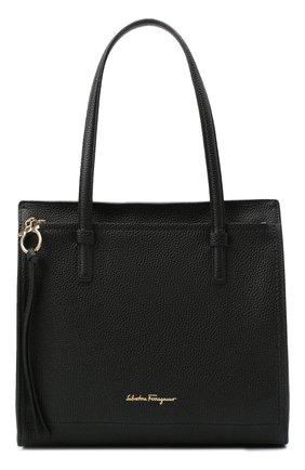 Женский сумка-тоут SALVATORE FERRAGAMO черного цвета, арт. Z-0720527 | Фото 1