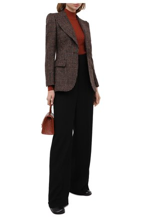 Женская шелковый свитер DOLCE & GABBANA оранжевого цвета, арт. FX883T/JASNV | Фото 2
