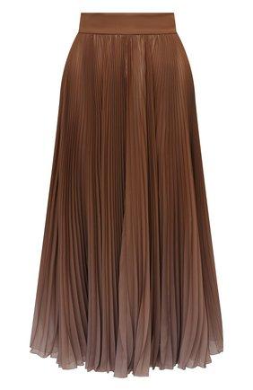 Женская плиссированная юбка DOLCE & GABBANA бежевого цвета, арт. F4BZ0T/GDW12 | Фото 1