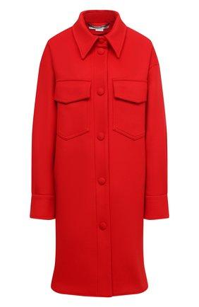 Женское шерстяное пальто STELLA MCCARTNEY красного цвета, арт. 601217/SPB11   Фото 1