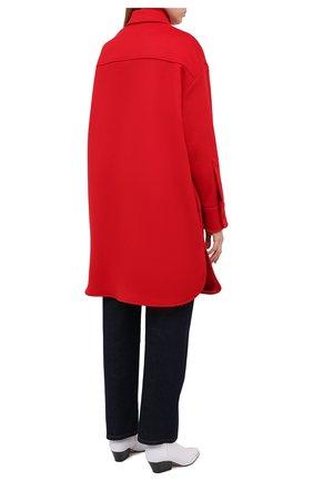 Женское шерстяное пальто STELLA MCCARTNEY красного цвета, арт. 601217/SPB11   Фото 5
