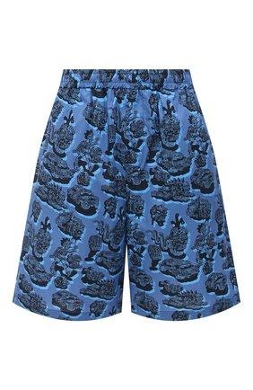 Женские хлопковые шорты STELLA MCCARTNEY синего цвета, арт. 600473/SPN12 | Фото 1