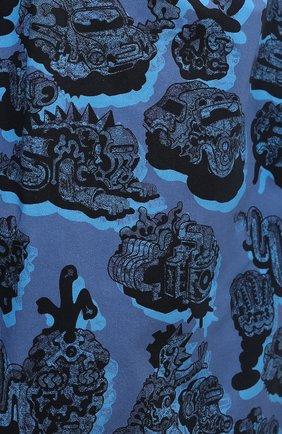 Женские хлопковые шорты STELLA MCCARTNEY синего цвета, арт. 600473/SPN12 | Фото 5 (Женское Кросс-КТ: Шорты-одежда; Кросс-КТ: Широкие; Материал внешний: Хлопок; Длина Ж (юбки, платья, шорты): До колена; Стили: Кэжуэл)