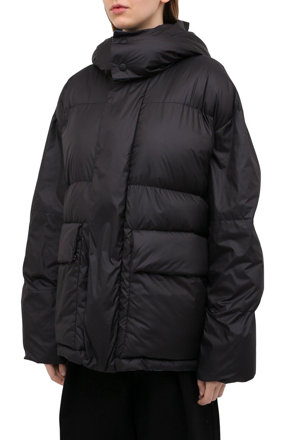 Женская куртка STELLA MCCARTNEY черного цвета, арт. 601724/SPN04 | Фото 4