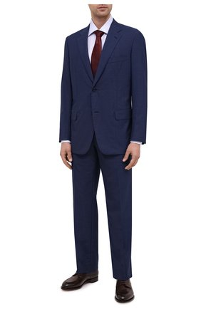Мужская хлопковая сорочка CANALI голубого цвета, арт. XX05/GX02024 | Фото 2