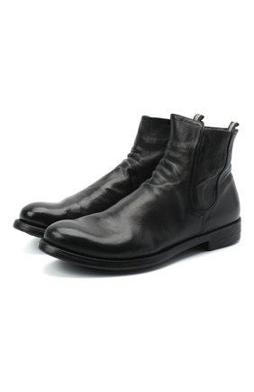 Мужские кожаные сапоги OFFICINE CREATIVE черного цвета, арт. HIVE/038/IGNIS | Фото 1