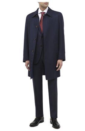 Мужской кожаные дерби BALLY черного цвета, арт. FRID0M/00 | Фото 2