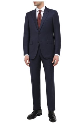 Мужские кожаные дерби BALLY черного цвета, арт. SCRIVANI/600 | Фото 2 (Материал внутренний: Натуральная кожа; Стили: Классический)