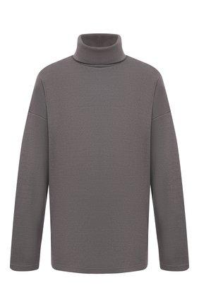 Мужской шерстяной свитер KAZUYUKI KUMAGAI серого цвета, арт. KJ03-033 | Фото 1