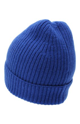 Мужская шапка из шерсти и кашемира DANIELE FIESOLI синего цвета, арт. DF 8010 | Фото 2