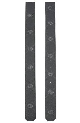 Мужской ремень BERLUTI черного цвета, арт. CS004-003 | Фото 2