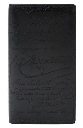 Мужской кожаное портмоне BERLUTI черного цвета, арт. N135265 | Фото 1
