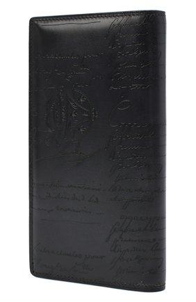 Мужской кожаное портмоне BERLUTI черного цвета, арт. N135265 | Фото 2