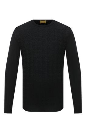Мужской шерстяной джемпер SVEVO черного цвета, арт. 13083SA20/MP13 | Фото 1