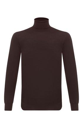 Мужской шерстяная водолазка SVEVO коричневого цвета, арт. 1314/2SA20/MP13 | Фото 1
