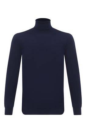 Мужской шерстяная водолазка SVEVO темно-синего цвета, арт. 1314/2SA20/MP13 | Фото 1