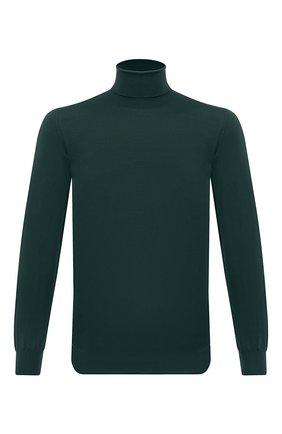 Мужской шерстяная водолазка SVEVO зеленого цвета, арт. 1314/2SA20/MP13 | Фото 1