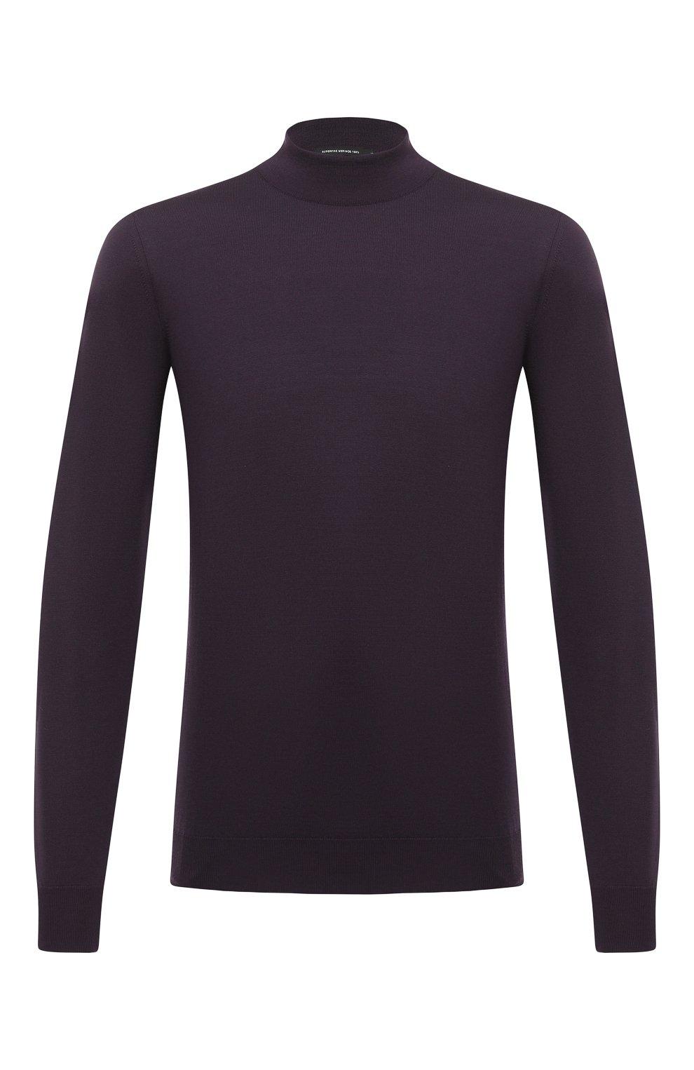 Мужской шерстяная водолазка SVEVO фиолетового цвета, арт. 1314/3SA20/MP13 | Фото 1