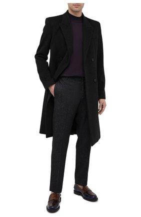 Мужской шерстяная водолазка SVEVO фиолетового цвета, арт. 1314/3SA20/MP13 | Фото 2